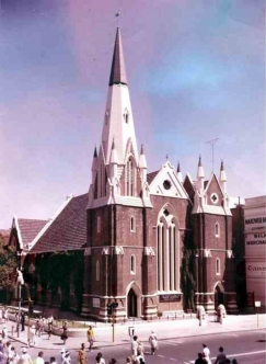 Wesley church c.1968-74