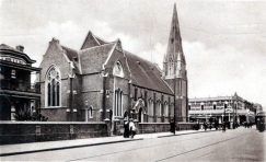 Manse & Church, Hay Street 1913