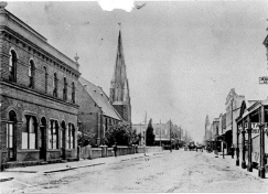 YMCA to the rear of Wesley church on Hay Street, c.1897
