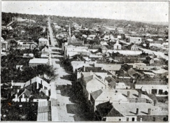 Hay Street from Town Hall 1870