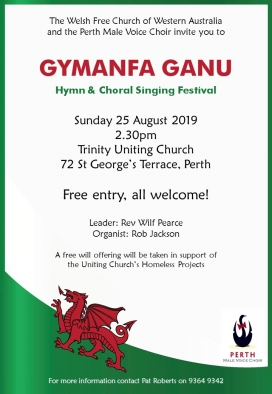 Welsh Church 25 Aug