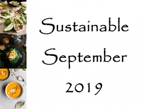 Sustainable September 2019