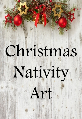 Christmas Nativity Art