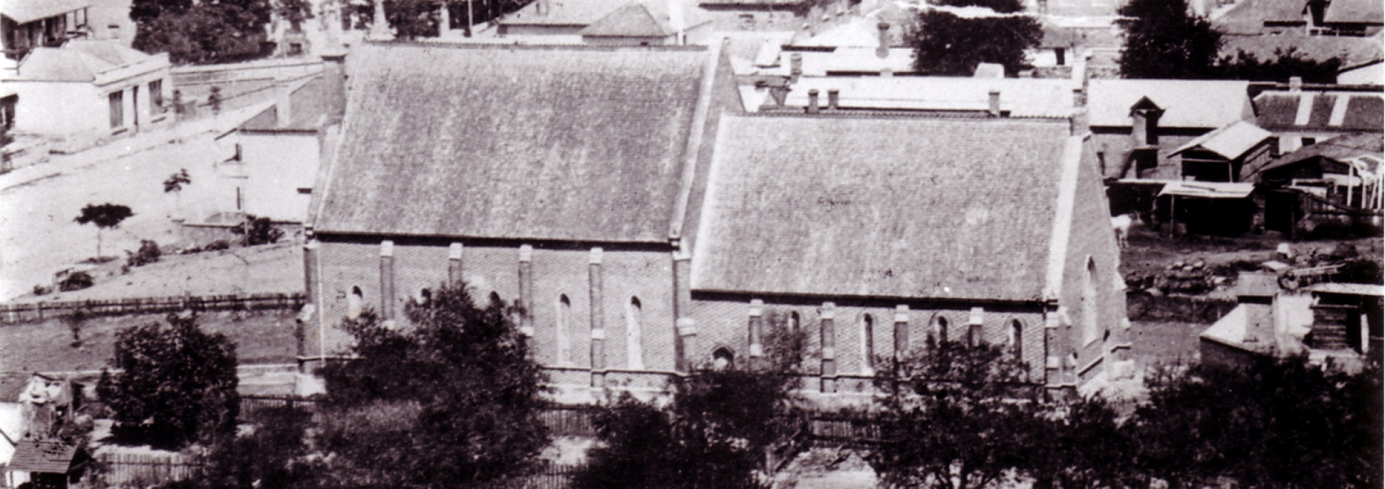 The second Trinity Chapel and Schoolroom, opened 1872